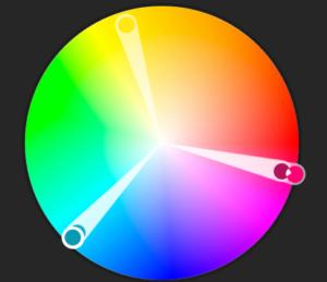 Triade farger