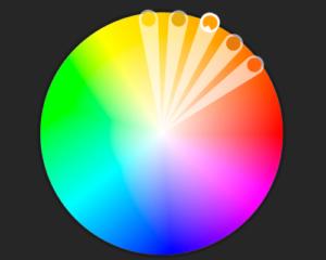 analoge farger